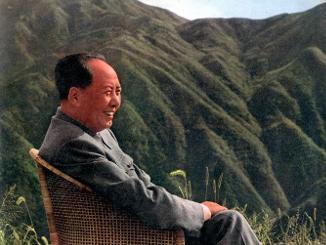 1961年毛泽东在庐山