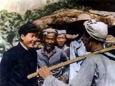 1939年毛泽东在延安