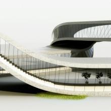 3D建筑模拟图