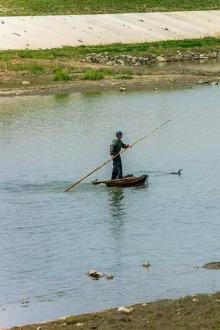 4月17日,滁河沿岸徒步,烧烤,游戏和野路子尽兴游