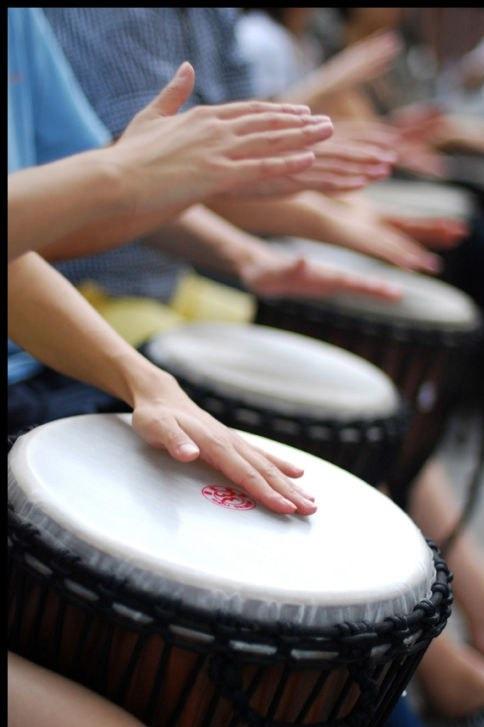 蒙自传统非洲手鼓聚会交流免费学习