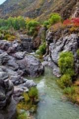 野蘑菇11.1号周日百里画廊最美秋景-乌龙峡谷