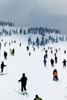 安吉滑雪泡温泉