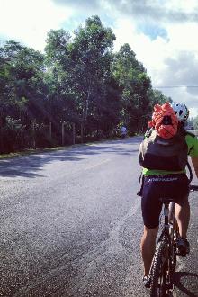2015年2月24日结伴环海南岛骑行●东线