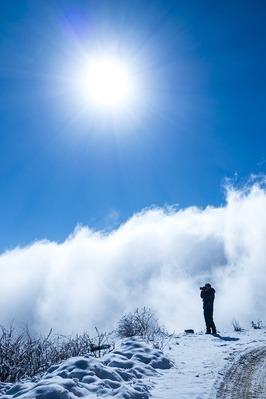 达瓦更扎新一代360度观景平台,最美云海之旅
