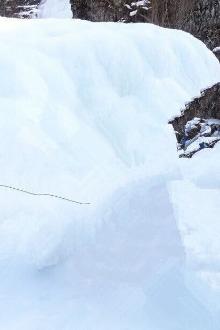 天井峡冰沟徒步观景摄影