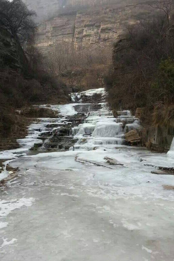 【山河约伴】1月9日山河相约千瀑沟看冰挂