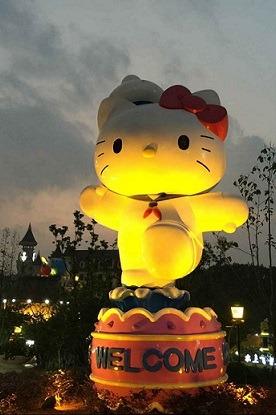 19号夜游安吉Hello Kitty