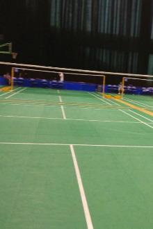 大连体育中心羽毛球交流