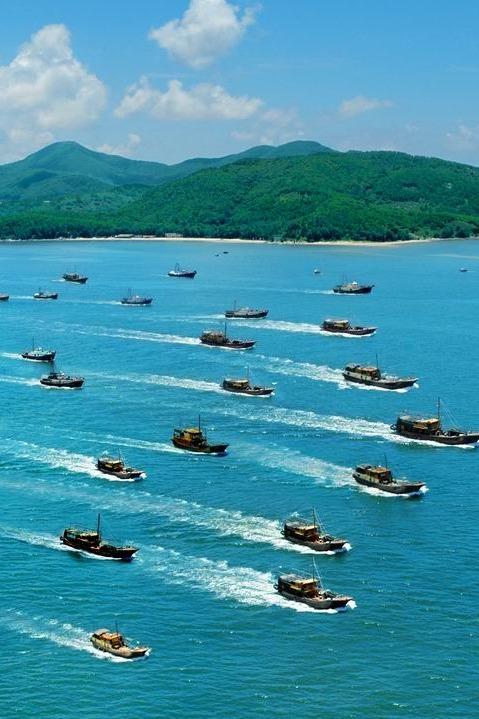 中国最美海岛广东海陵岛,男生女生来派对啊