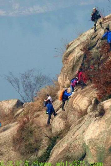 周日户外10月23号黄陂大顶山经典户外拉练一日行