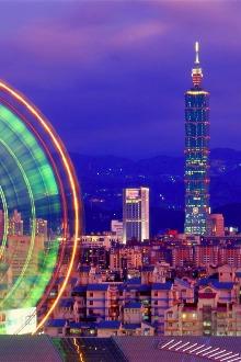 2015年春节香港-台湾台北5天4晚自由行香港往返台北进出
