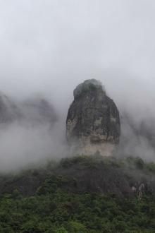 2015.2.24.初六.周二平和灵通岩侧山穿越到前山一日游