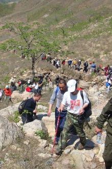 8月22日徒步登山活动