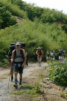 周六徒步登山组队