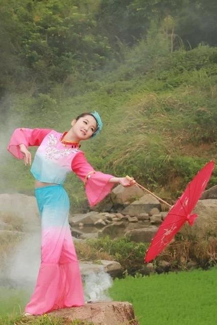 园博园旗袍古装唯美小清新摄影活动