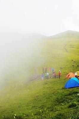7月11-12号露营初体验,夏花浪漫九顶山