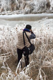 莲花湖观景拍照徒步10公里