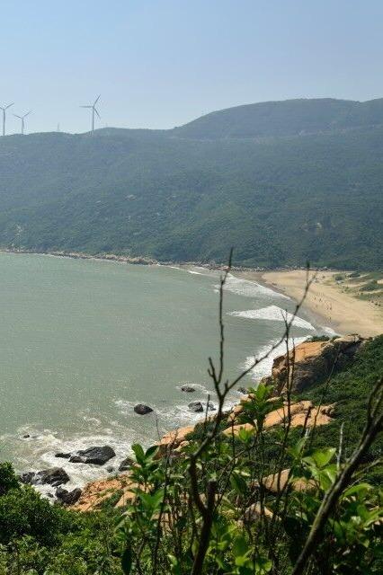 珠海高栏港最美海岸线穿越