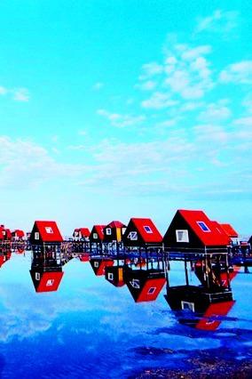 【北京百灵鸟户外】游马代风情月坨岛
