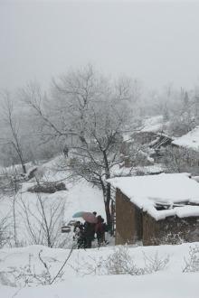 11月28号(周六)出行林州大峡谷看雪景吃烩菜