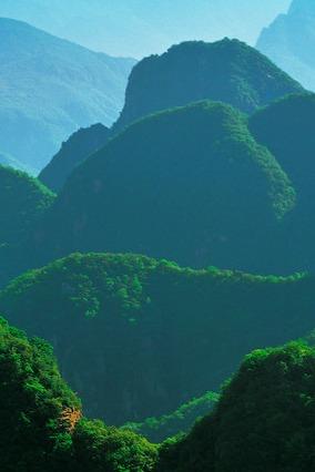 缙云山-一起锻炼身体吸收新鲜空气