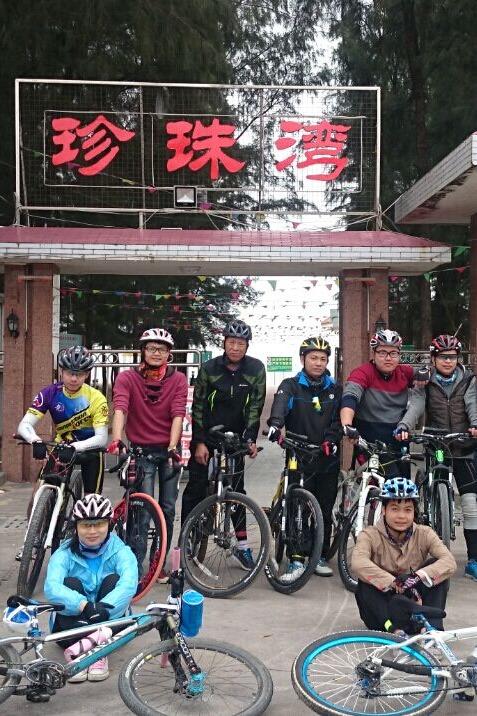 4月11号骑行东平珍珠湾一天游!