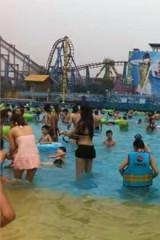 """8月14日""""清凉一夏  """"杭州乐园水乐园戏水游活动"""