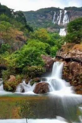 8月2日增城白水寨,赏中国落差最大的瀑布
