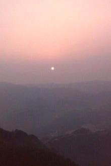 五二仙人台看日出