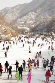 1月10-11日河南平顶山尧山滑雪场8小时滑雪、福泉泡温泉