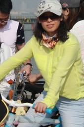 海鸥岛骑单车