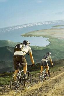 120公里骑行,南坪到缙云山往返