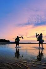 5.1惠州大辣甲岛野营,冲浪,拣贝壳听海摄影,野炊