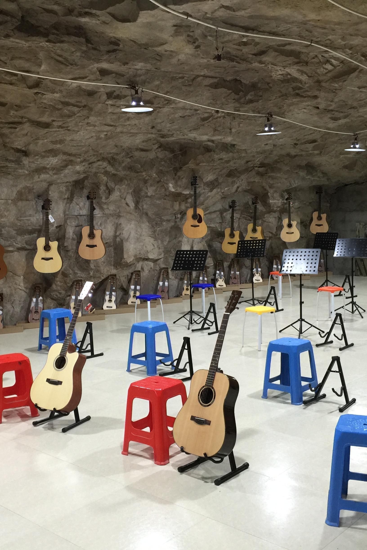 山洞吉他集体课