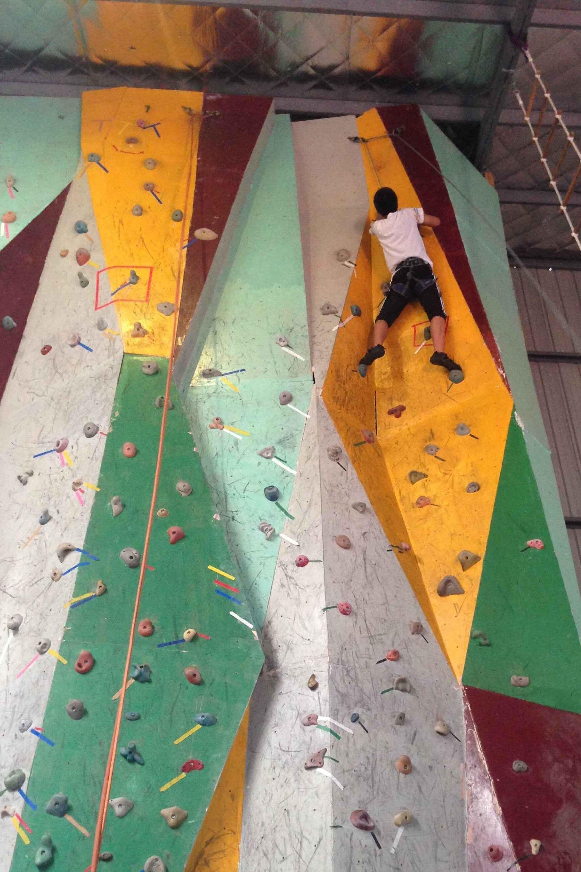 9.13号(本周日)攀岩人会员动态攀岩馆体验活动