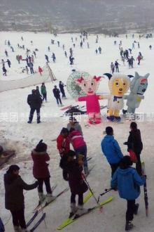 九龙山滑雪一日游玩