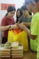 【8月13日】 爱心待餐 真情暧人心志愿者活动