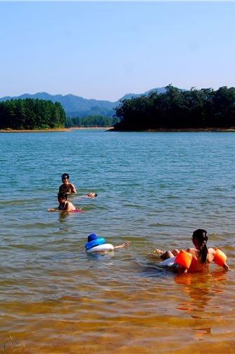 台山风车山上看日落、千岛湖野炊露营游水