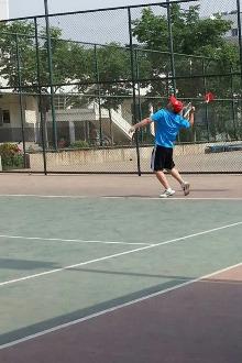 春节网球畅打