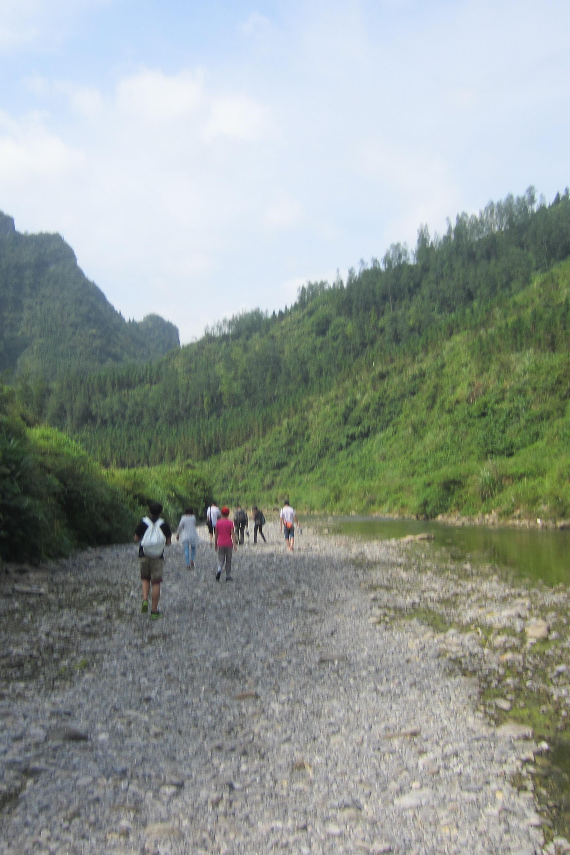 9月14雀儿沟溯溪穿越之旅
