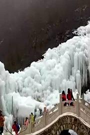 12月19璀璨明珠大平台龙居冰瀑布~