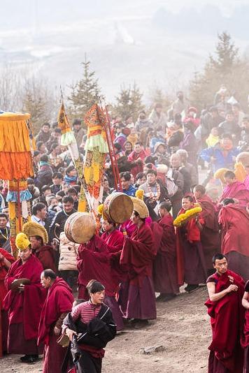 体验一下不同民族的春节:2月九寨郎木寺之行