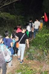 11月11日周五板障山夜爬 武警支队上~隧道南下