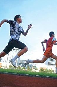 6月23号晚7点跑步高新区绿道(塞纳阳光到安昌桥往返)