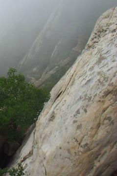 穿越中岳嵩山宝珠峰