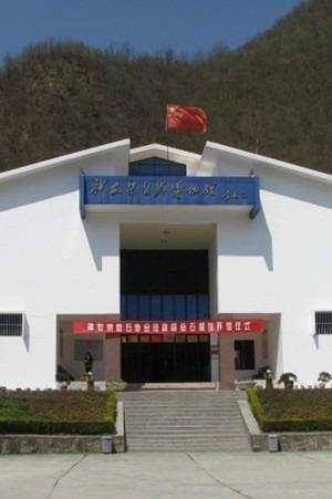 中国群团——参观神农架自然博物馆