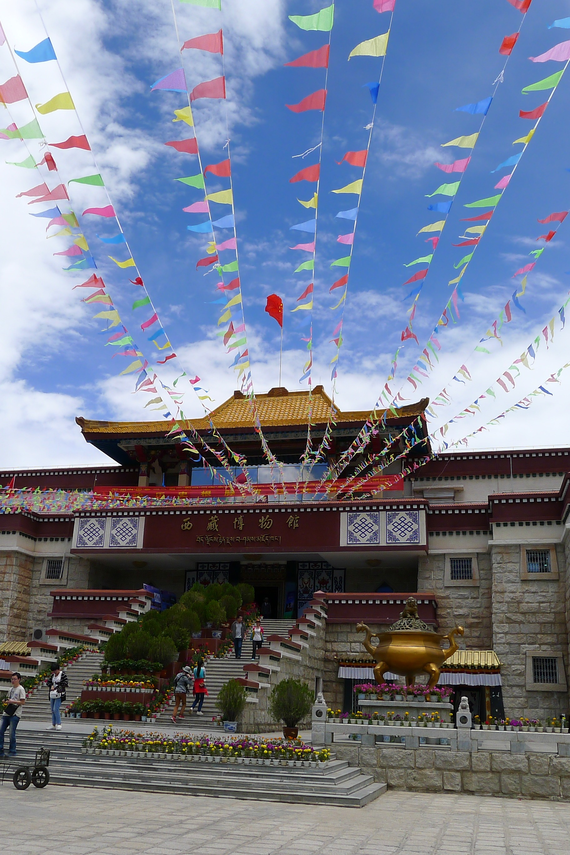 中国群团——参观西藏博物馆