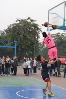 三溪篮球比赛,以球会友。