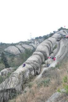 自由行27期,攀登温州大罗山,大罗龙脊自由行